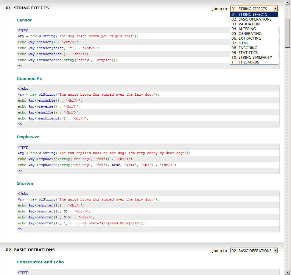 php extract string