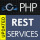 RESTful web service API framework for PHP